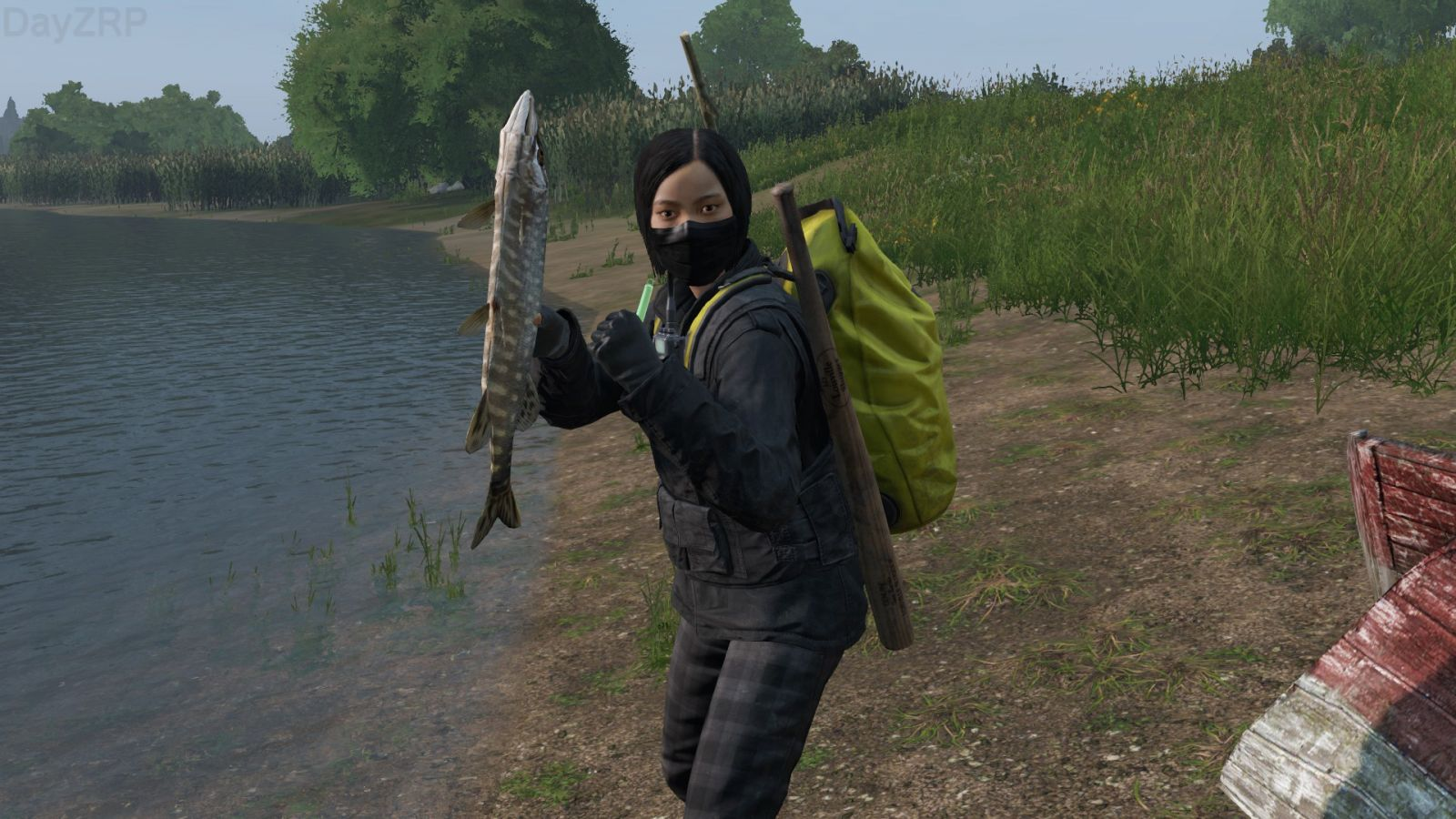 '' LOOK JERRY! I CAUGHT ONE!! ''