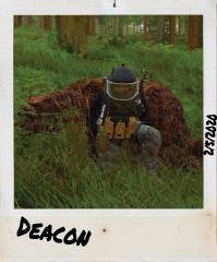 Deacon the Bear hunter