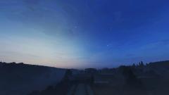 a bluer sky