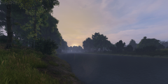 riverside sunrise