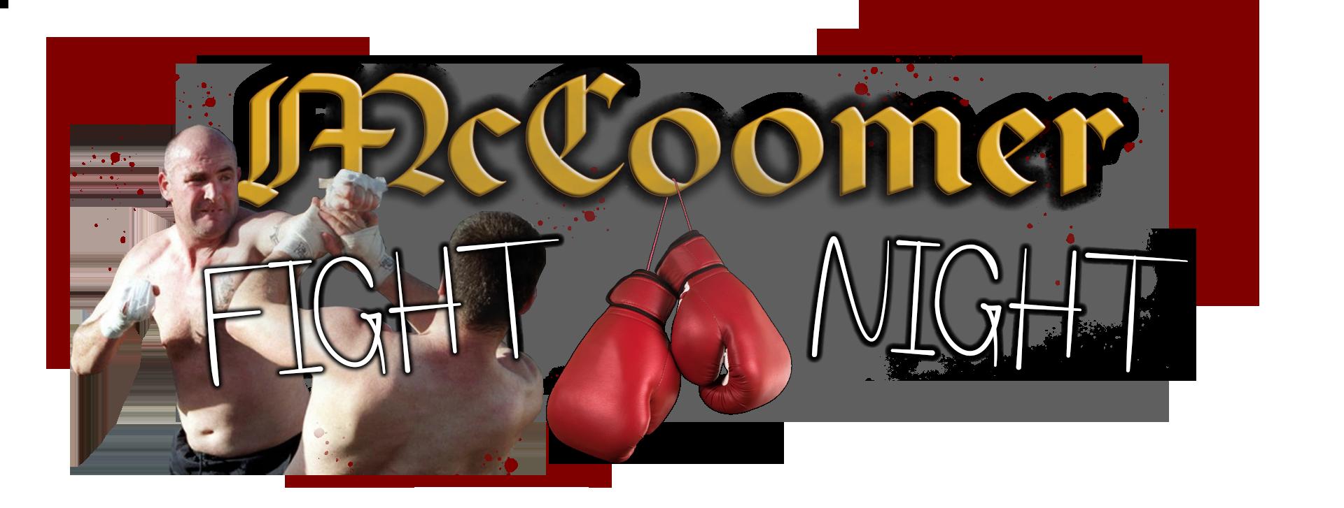 McCoomer Fight Night