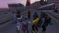Dance party in Cherno