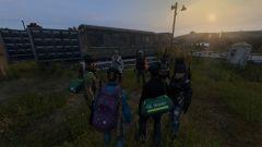Evenings in the campsite