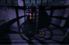 Dr Isaac Sutton is trapped!