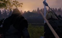 The sunrise above their love