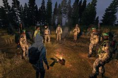 Together at the campfire