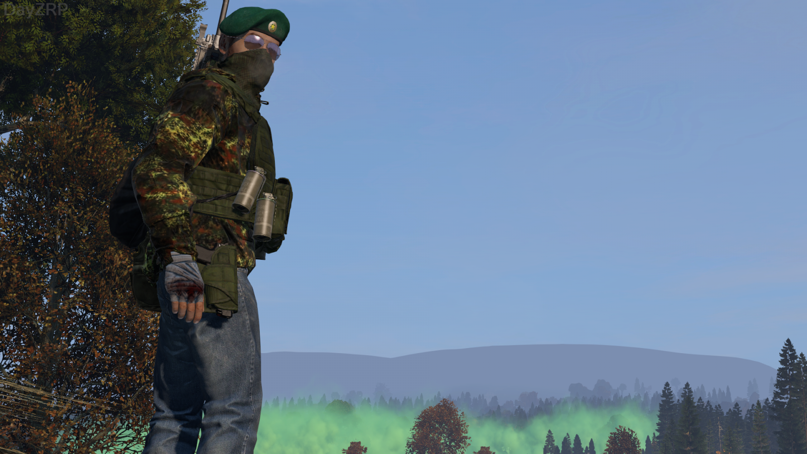 The destruction of Chernarus