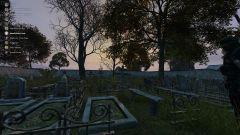 Han Lee's funeral.