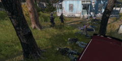 Taking the people in the medic camp as hostages