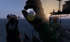 Drinks at sea