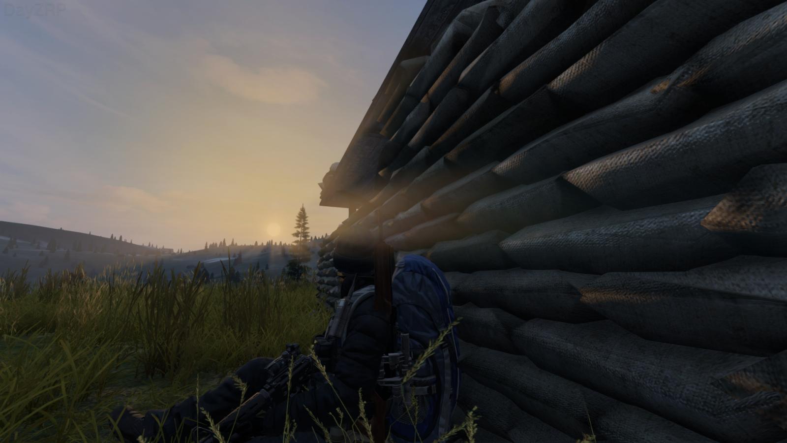 Watching the sun set over a dead world